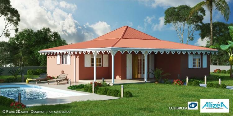 Constructeurs de maisons nf en martinique 972 maisons for Maison en bois martinique prix